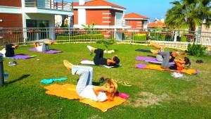 Doğada Pilates