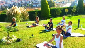 yoga doğa