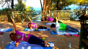 Pilates and yoga camps in Budva Montenegro.