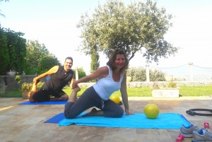Eşli Egzersiz (couple workout)