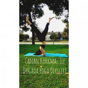 Canan Korkmaz ile Doğada Yoga