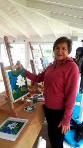 Alaçatı'da Sevgi Gür ile Art Therapy