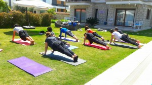 Group and private yoga sessions in İstanbul with Canan Korkmaz