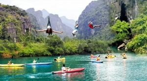 Doğu Karadeniz Yoga Kampında zipline da yapacağız.