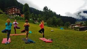Ayder Yaylas'nda Sabah Yogası