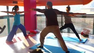 Göktürk'te sağlık, spor, fitness, wellness The Power Lab'de. Canan Korkmaz ile couple work out dersi.