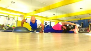 İstanbul'da, Canan Korkmaz ve İsa Kurtca ile İşerinde de spor, fitness, yoga derslerine katılın ve nefes alın