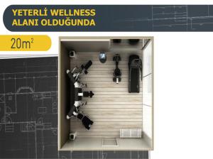 Önemli olan alanın boyutu m2 si değil nasıl efektif yerleştirildiğidir.  BWC ile şirketinizde spor ve fitness faaliyetleriyle üretkenliği arttırın. BWC Canan Korkmaz ve İsa Kurtca ile şimdi İstanbul'da ve tüm Türkiye'de