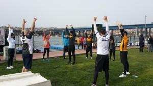 İsa Kurtca ile Dragon Boat Yarış hazırlıkları aktif ısınma ile başlar. İstanbul, İstinye, Nişantaşı ve Göktürk'de personal training, özel spor ve fitness dersleri, kurumsal koçluk, şirket kamp ve gezileri, ofis ve iş yeri egzerszi programları başlamıştır.