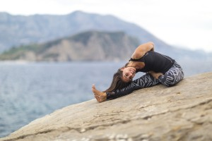 Yoga therapy for back, neck and knee pain in Budva Montenegro