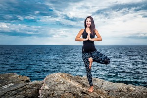 Corporate health programs with Canan Yıldırım in Montenegro. Yoga, pranayama, breathing, functional training