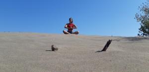 Dalyan İztuzu plajında da yoga ve pranayama çalışmaları yapacağız.