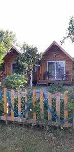 Dalyan yoga kampımızda kalacağımız şirin bungalowlar.
