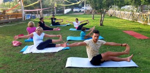 Canan Yıldırım ile Dalyan yoga kampı boyunca şehirden ve kalabalıktan uzakta, haftanın tüm yorgunluğunu ve stresini attık.