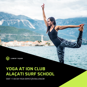 Yoga, pranayama and breathing exercises with Canan Yıldırım at Ion Surf Club Alaçatı Çeşme